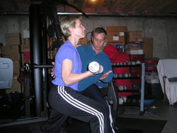 personal training denver free weights
